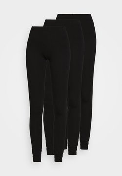 Even&Odd - 3 PACK - Leggings - Hosen - black