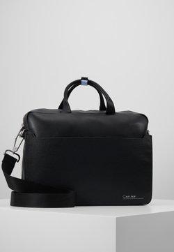 Calvin Klein - SLIVERED LAPTOP BAG - Notebooktasche - black