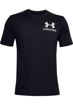 Under Armour - PERFORMANCE BIG LOGO - Funktionsshirt - black