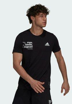 adidas Performance - SIG M - Printtipaita - black