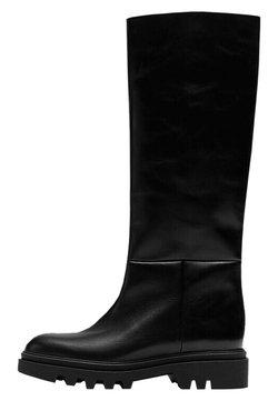 Massimo Dutti - MIT SUPER-PROFILSOHLE - Bottes - black