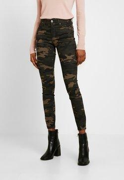 ONLY - ONLNINE ESTER LIFE - Spodnie materiałowe - peat/crocoblack