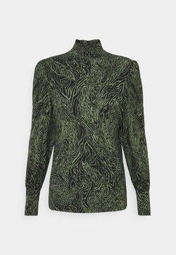 ONLY - ONLAMINA - Langærmede T-shirts - balsam green/black
