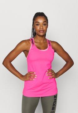 Nike Performance - ELASTKIA - Tekninen urheilupaita - hyper pink/black