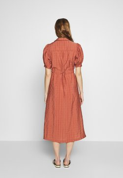 Selected Femme - SLFMINNA CALLY DRESS - Shirt dress - withered rose