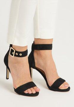 DreiMaster - Sandalen met hoge hak - schwarz