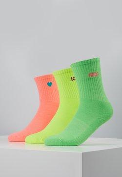 Urban Classics - PRIDE PACK 3 PACK - Socken - neon yellow/neon pink/neon green