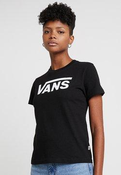 Vans - FLYING V CREW TEE SHORT SLEEVE - Camiseta estampada - black