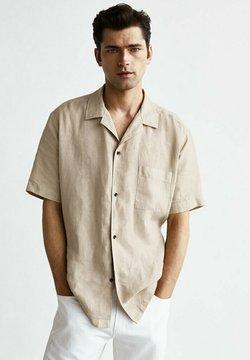 Massimo Dutti - Koszula - beige