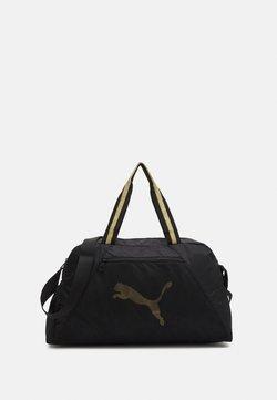 Puma - GRIP BAG 25 L - Sports bag - black/bright gold