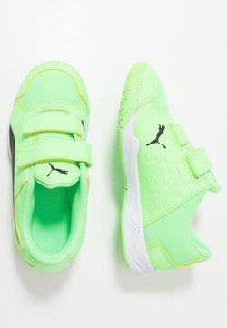 Puma - AURIZ V - Trainings-/Fitnessschuh - elektro green/black/white