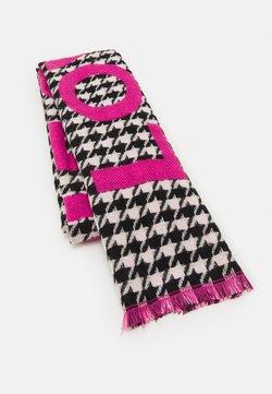 Codello - LOVE PIECE DOGTOOTH - Scarf - dark pink