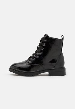 New Look Wide Fit - WIDE FIT DIGGER LACE UP - Nauhalliset nilkkurit - black