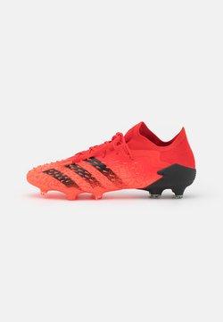 adidas Performance - PREDATOR FREAK .1 FG - Botas de fútbol con tacos - red/core black/solar red