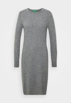 Benetton - DRESS - Sukienka etui - grey