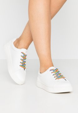 Even&Odd Wide Fit - PRIDE - Sneakers laag - white