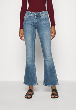 Pepe Jeans - NEW PIMLICO - Flared Jeans - blue denim