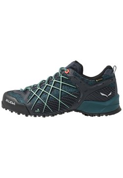 Salewa - WILDFIRE GTX - Hikingschuh - ombre blue/atlantic deep