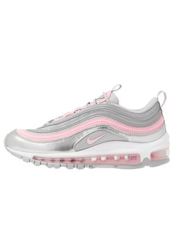 Nike Sportswear - AIR MAX 97 UNISEX - Sneakers laag - metallic silver/pink/light smoke grey/white