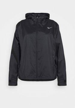 Nike Performance - ESSENTIAL JACKET PLUS - Chaqueta de deporte - black/silver