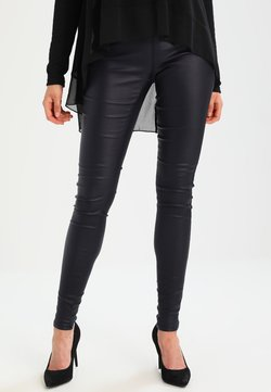 Kaffe - ADA COATED - Leggings - Hosen - midnight marine