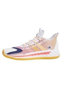 adidas Performance - PRO BOOST LOW SHOES - Obuwie do koszykówki - white