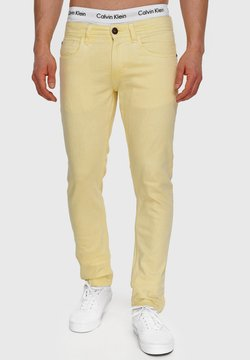 INDICODE JEANS - WOODS - Jeans slim fit - pale banana