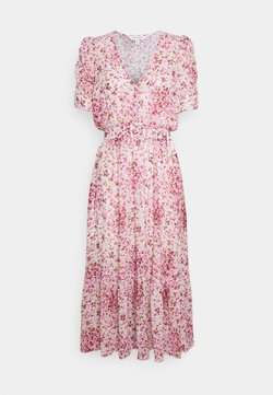 Forever New - FREYA GATHER SLEEVE MIDI DRESS - Korte jurk - pink