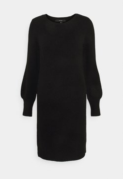 Vero Moda - VMSIMONE O-NECK - Jumper dress - black