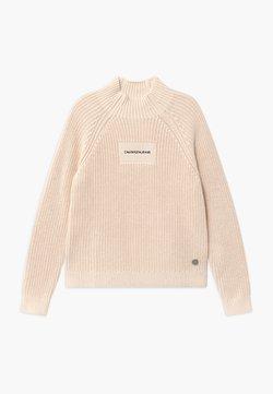 Calvin Klein Jeans - OCO MOCK NECK BOXY - Trui - off-white