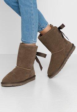 Esprit - LUNA BACK - Stiefelette - brown grey