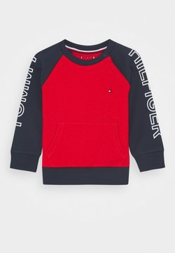 Tommy Hilfiger - BABY COLORBLOCK - Sweater - blue