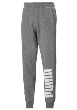 Puma - Jogginghose - medium gray heather-white
