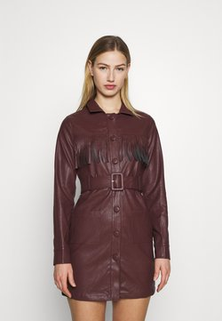 Fashion Union - WENDY DRESS - Robe d'été - brown
