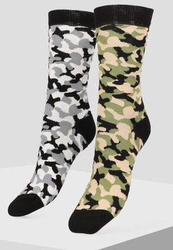 Libertad - 2 PACK - Socken - grey
