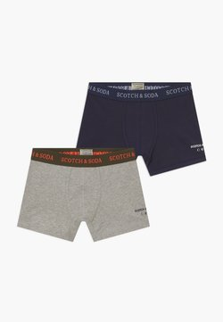 Scotch & Soda - BOXER 2 PACK - Shorty - navy/grey