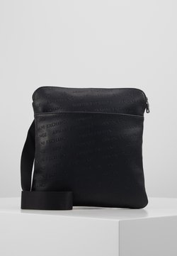 Armani Exchange - SMALL CROSSBODY BAG - Sac bandoulière - black