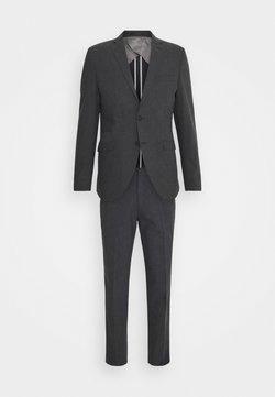 Selected Homme - SLHMATTHEW  - Anzug - dark grey/structure