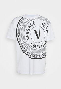 Versace Jeans Couture - Printtipaita - bianco ottico