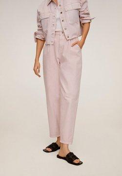 Mango - REGINA - Jeans straight leg - rosa