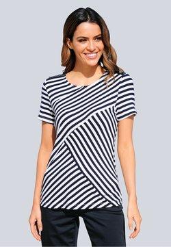 Alba Moda - T-Shirt print - blue, white