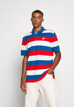 Nike Sportswear - MATCHUP STRIPE - Polo - industrial blue/white