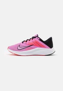 Nike Performance - QUEST 3 - Neutral running shoes - beyond pink/black/flash crimson