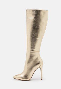 RAID - LAVERNE - High Heel Stiefel - gold