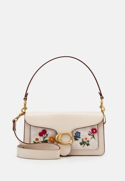 Coach - SIGNATURE FLORAL EMBROIDERY TABBY - Handtasche - chalk
