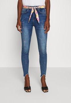 Desigual - RAINBOW - Jeans Skinny Fit - denim dark