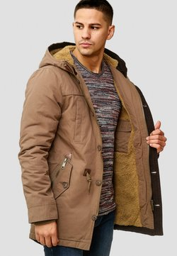 INDICODE JEANS - Wintermantel - brown