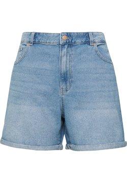 ONLY Carmakoma - JEANSSHORTS CURVY CARHINE REG - Jeansshort - light blue denim