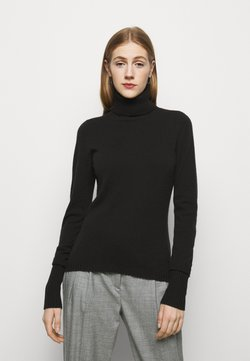 FTC Cashmere - ROLLNECK - Strickpullover - black tea