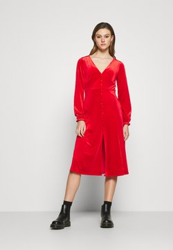 Monki - LOUISA DRESS - Cocktail dress / Party dress - red